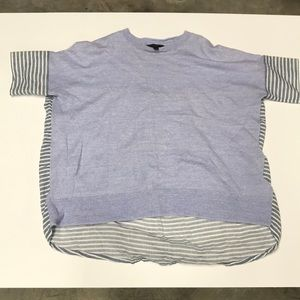 Used condition J Crew Knit/linen Oversized Shirt